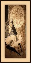 Photo: Antonio Berni El striptease de Ramona 1963. Xilocollage, díptico. Panel izquierdo. Matriz xilográfica: 138,1 x 55,6 cm. Estampa: 147,7 x 63,8 cm. The Museum of Fine Arts, Houston, EE.UU. Expo: Antonio Berni. Juanito y Ramona (MALBA 2014-2015)