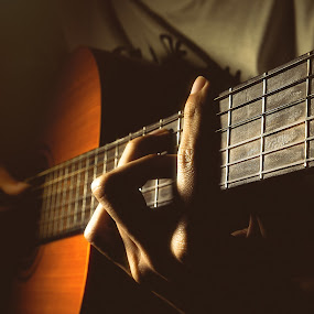 Morning Songs by Gabriel Fox - Artistic Objects Musical Instruments ( hands, music, strings, acoustic, fingers, guitar,  )