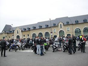 Photo: Pause sur le parcours à Vitré