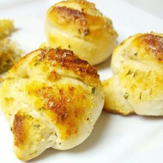 Homemade Garlic Knots.