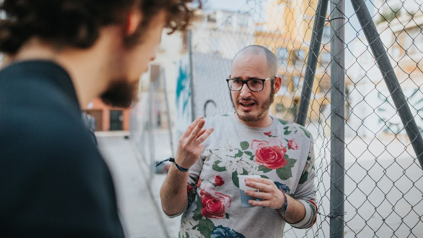 César Lorente, director y guionista de 'Strike'. (Foto: Laura Flores)