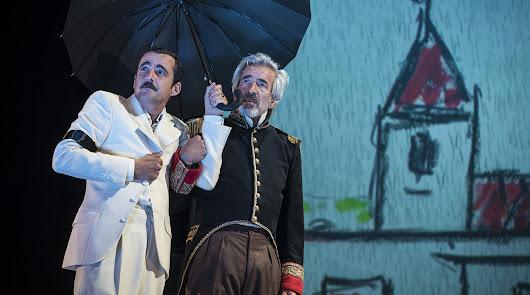Imanol Arias traerá a Almería un texto de García Márquez dirigido por Saura
