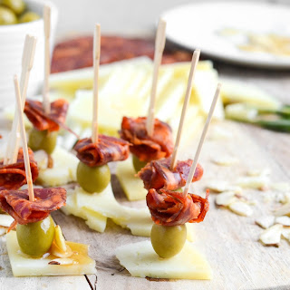 Olive Cheese Skewers Recipes.