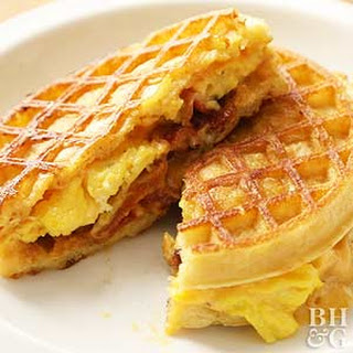 Breakfast Grilled Cheese.