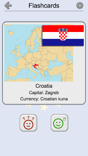 European Countries - Maps, Flags and Capitals Quiz - Apps on