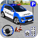 Modern Police Car Parking 3D: Real Car Drive Games icon