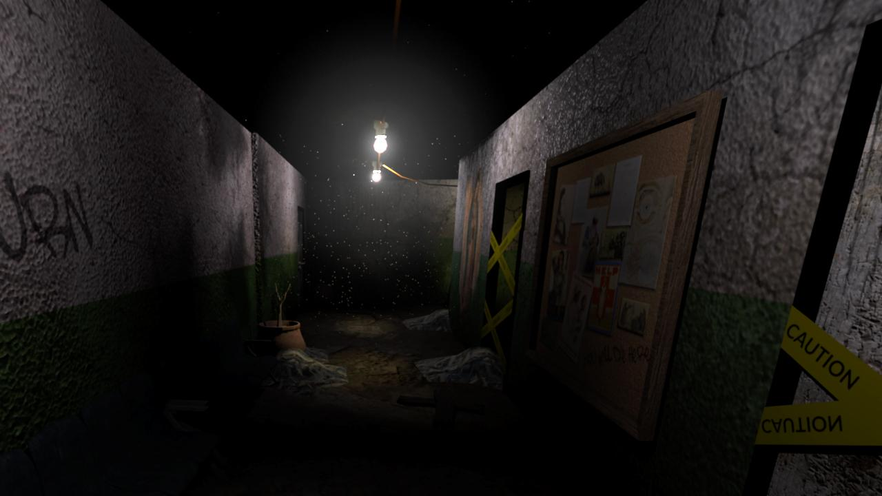 Dark Walls VR- capture d'écran