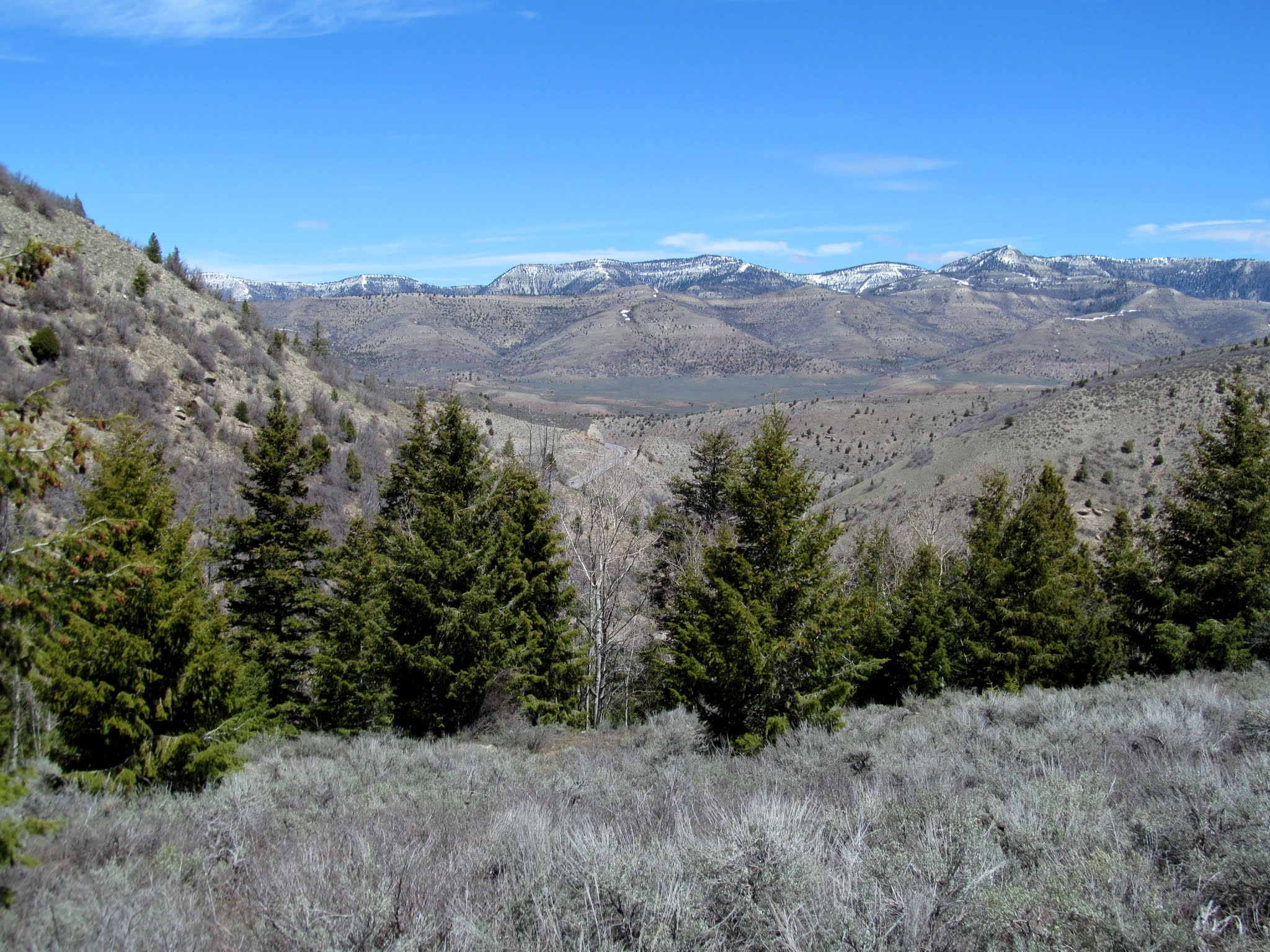 Photo: Upper Price Canyon with Reservation Ridge on the horizon