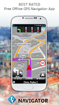 MapFactor GPS Navigation Maps - screenshot thumbnail 01