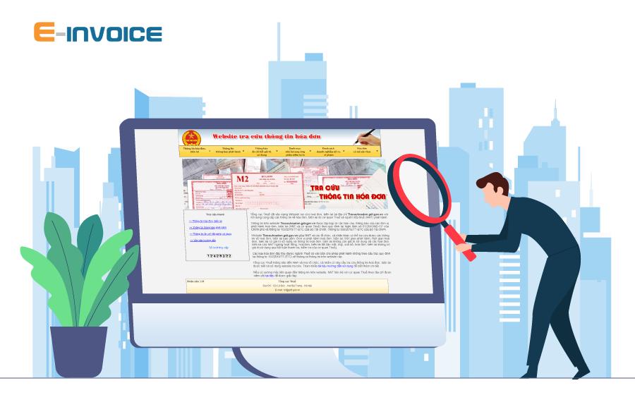 Quy định về công bố, tra cứu thông tin hóa đơn điện tử thông qua Cổng thông tin điện tử.