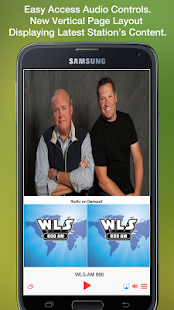 WLS-AM 890- screenshot thumbnail