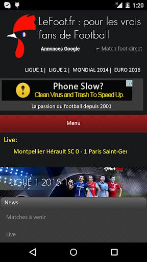 LeFoot.fr : tout le football