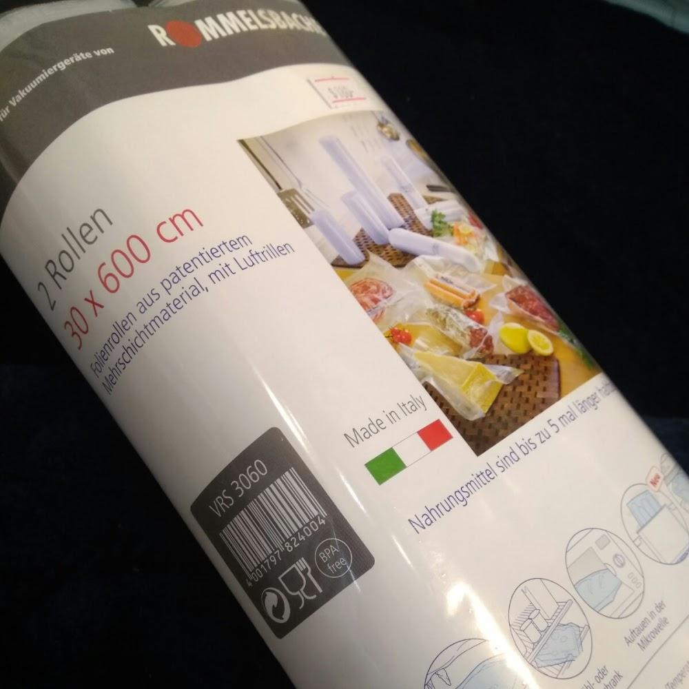 意大利真空慢煮袋 30cm x 600cm 兩卷