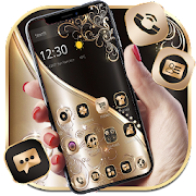 Golden Black Luxury Theme