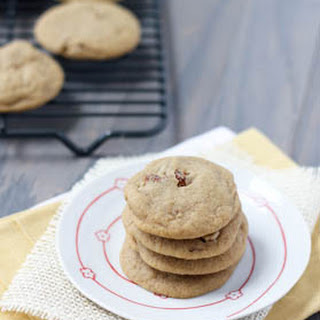 Brown Sugar Cookies with Maple & Pecan