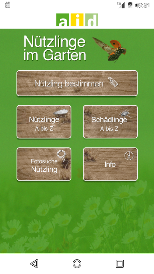 n tzlinge im garten android apps on google play. Black Bedroom Furniture Sets. Home Design Ideas