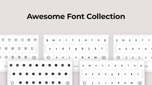 Fonts screenshot 1