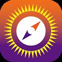 Sun Seeker - Sunrise Sunset Times Tracker, Compass icon