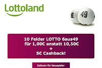 Angebot für Lottoland LOTTO 6aus49 im Supermarkt
