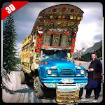 Khan Pak CPEC Truck Driver Icon