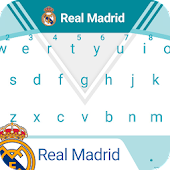 Real Madrid Minty White Keyboard Theme