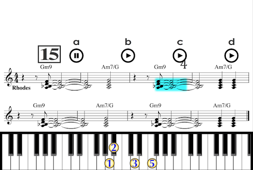 Learn how to play Piano PRO Apps voor Android screenshot
