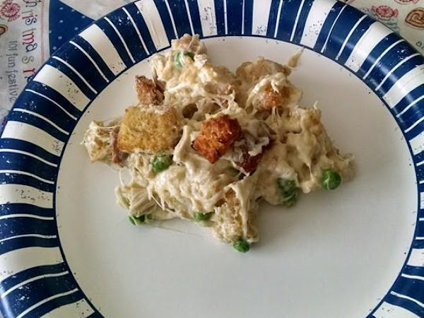 Easy Chicken And Swiss Cheese Casserole Recipe