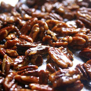 Candied Pecans With A Twist.