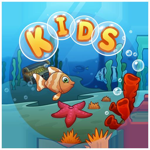 Baby Fishing: 宝宝钓鱼:泡泡的孩子 教育 App LOGO-硬是要APP