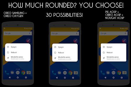 RoundedUI Pie,Samsung,Oreo,Oxygen Substratum Theme 8 3 (P) APK for