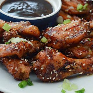 Asian Chicken Wings.