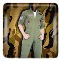Military Suit Photo Editor icon