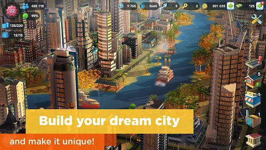 SimCity BuildIt MOD (Unlimited Money) 1