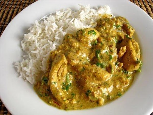 Pork (or Chicken) In Creamy Tomato Indian Curry Recipe