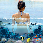 3D Water Effects Photo Maker icon