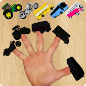 Tải Game Vehicles Finger Family Puzzle Game