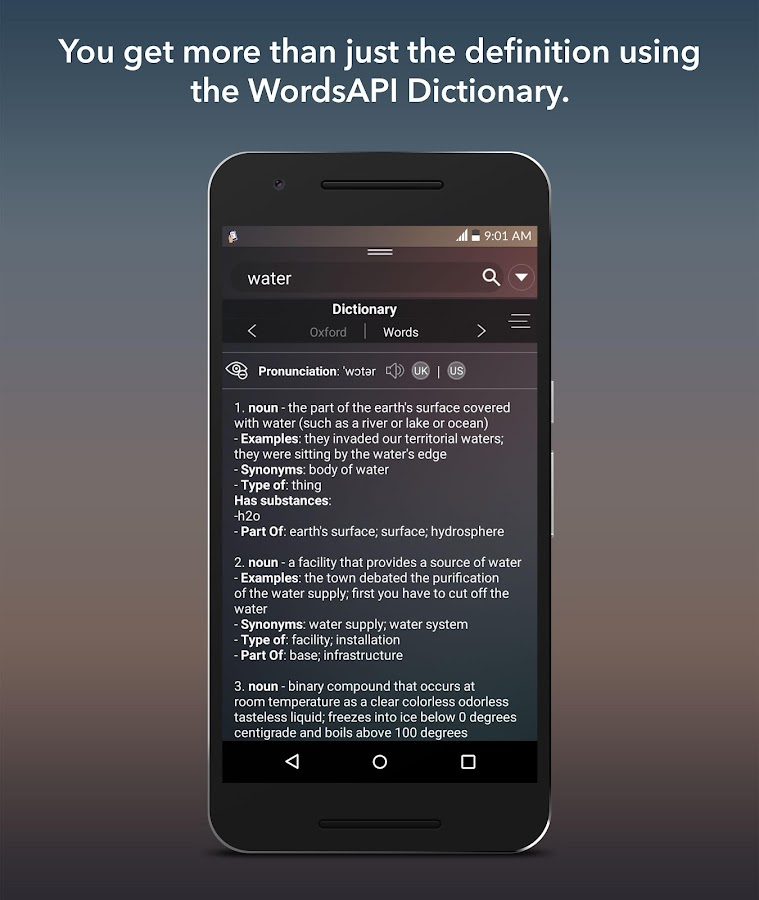 Tapxicon- Portable Dictionary- screenshot