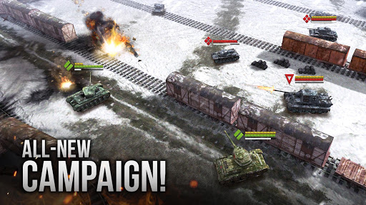 Armor Age: Tank Wars u2014 WW2 Platoon Battle Tactics filehippodl screenshot 1