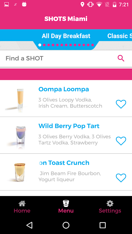 SHOTSBar- screenshot