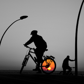 They ride the sun by Yuval Shlomo - Sports & Fitness Cycling