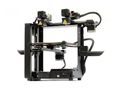 MakerGear M3 Independent Dual Extrusion 3D Printer - Rev 1