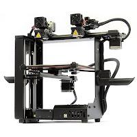 MakerGear M3 Independent Dual Extrusion 3D Printer - Rev 1