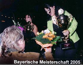 Photo: 2005 Bayerische Meisterin Sabina Bär