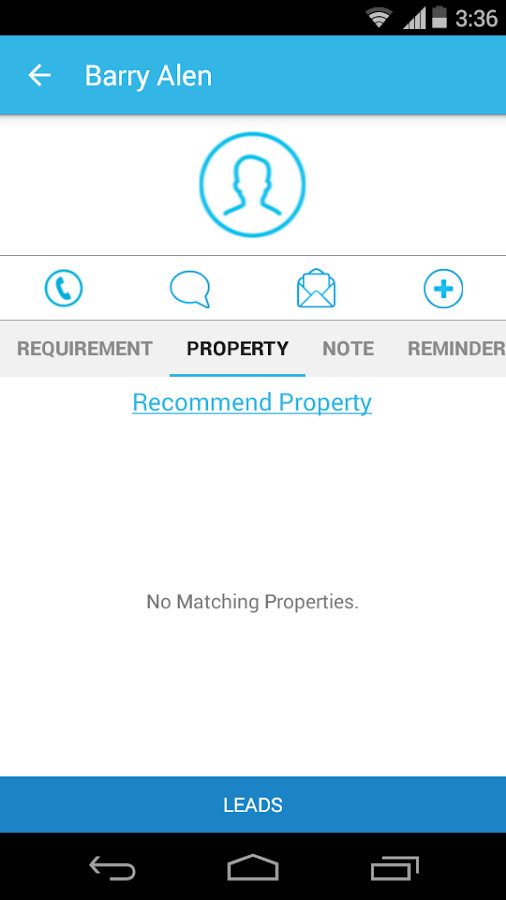 Mobile Real Estate Agents CRM - screenshot
