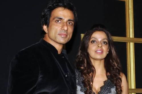 Sonu Sood and Sonali Sood