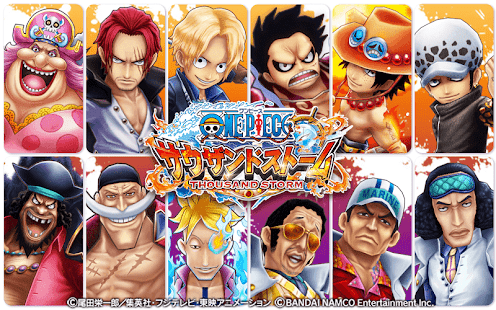 Game ONE PIECE サウザンドストーム APK for Windows Phone