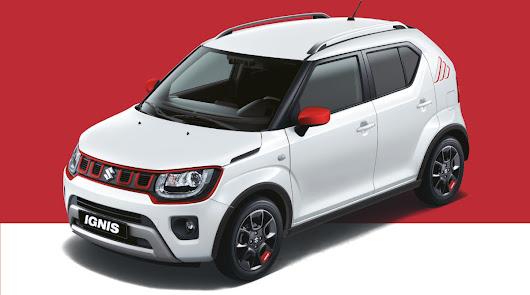 Playcar ya tiene disponible el nuevo Suzuki Ignis Red & White