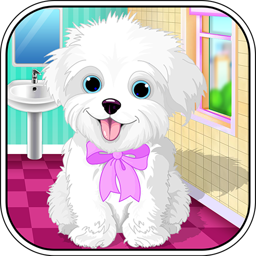 Puppy Pet Daycare - Caring for puppy salon