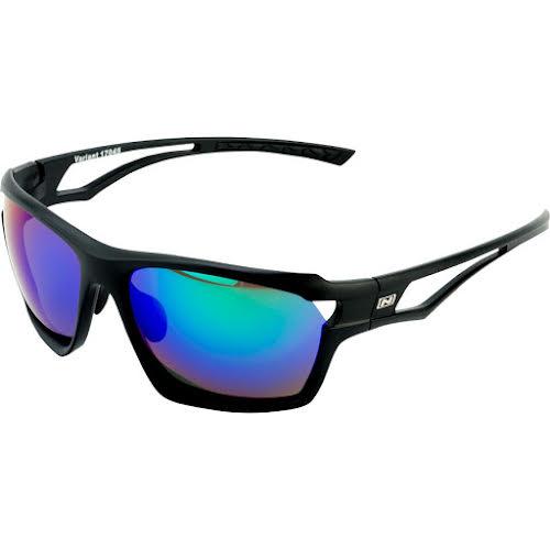 Optic Nerve Variant Sunglasses, Matte Black