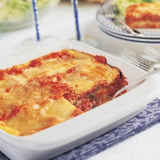 Roasted Vegetable Matzo Lasagna